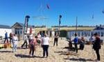 Bouwen met bamboo met Katwijk Events